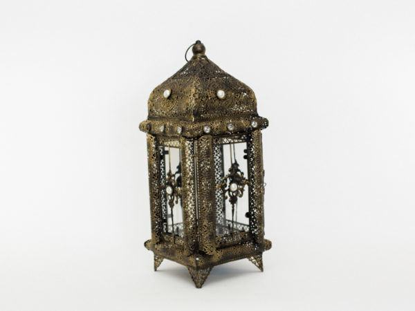 Brass Boho Lantern
