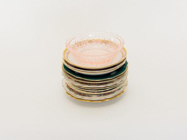 Small Vintage Plates