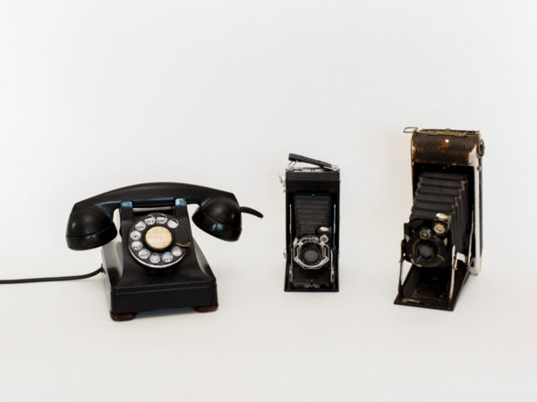 Vintage Phone and Cameras