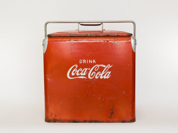 Red Coca Cola Cooler