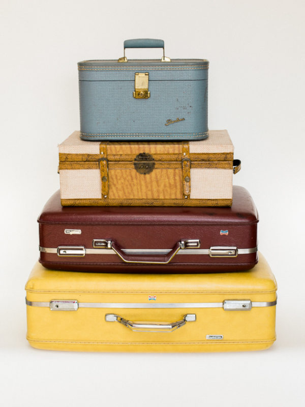 Large Colored Suitcases