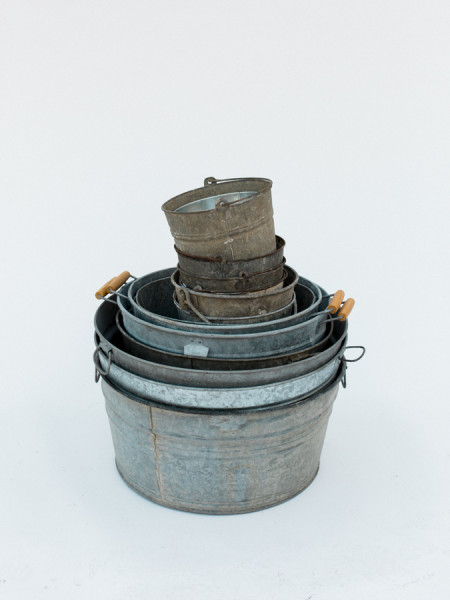 Silver Wash Tubs in all sizes