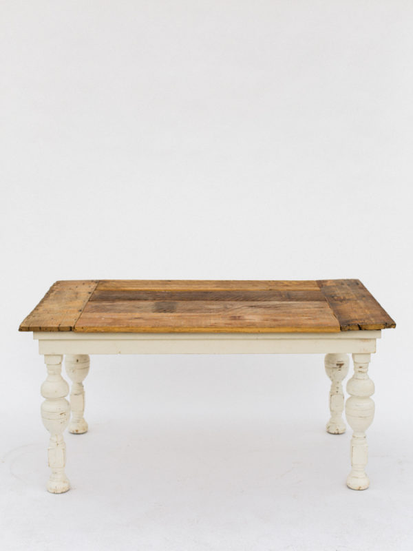 Farm Table with Chunky Legs