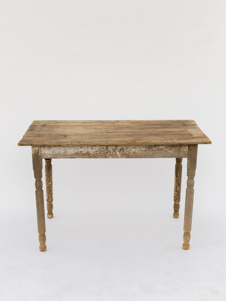 Small Whitewash Farm Table