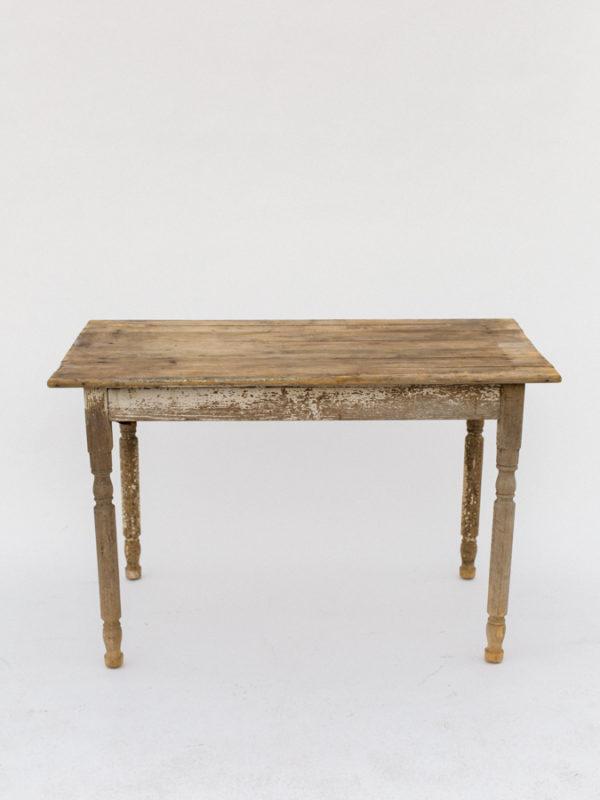 Small Whitewash Farm Table
