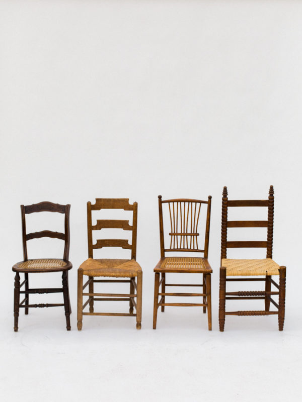 Random Wood Chairs