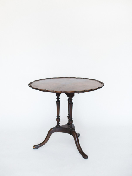wood vintage table