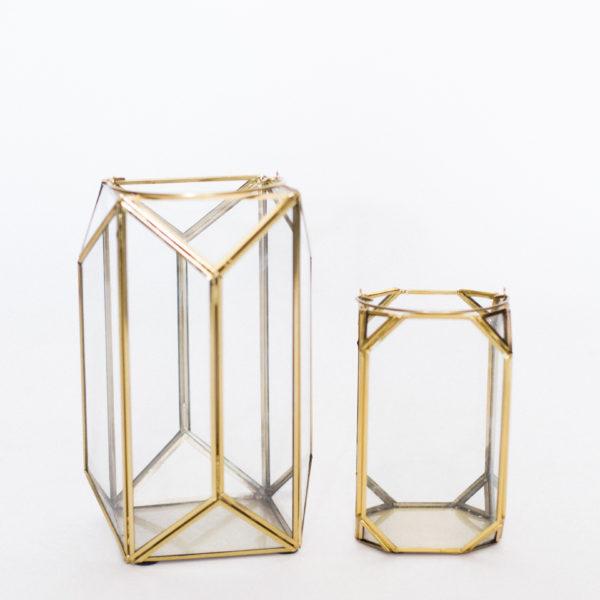 geometric lanterns
