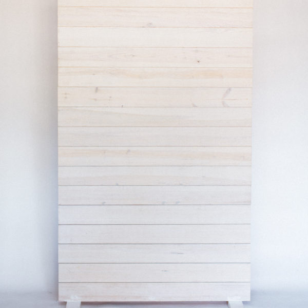 white shiplap wall