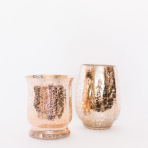 rose gold vessels