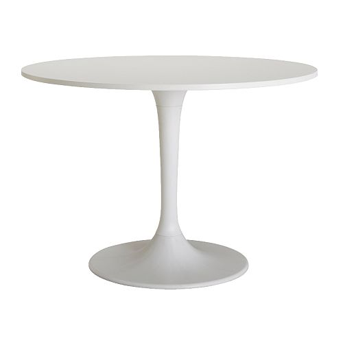 white modern table