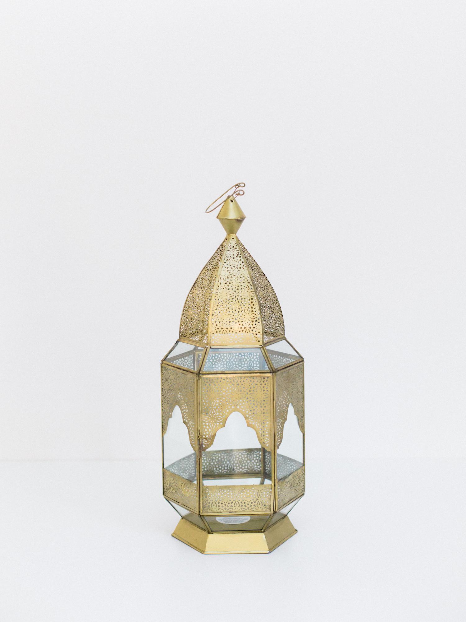 large boho lantern