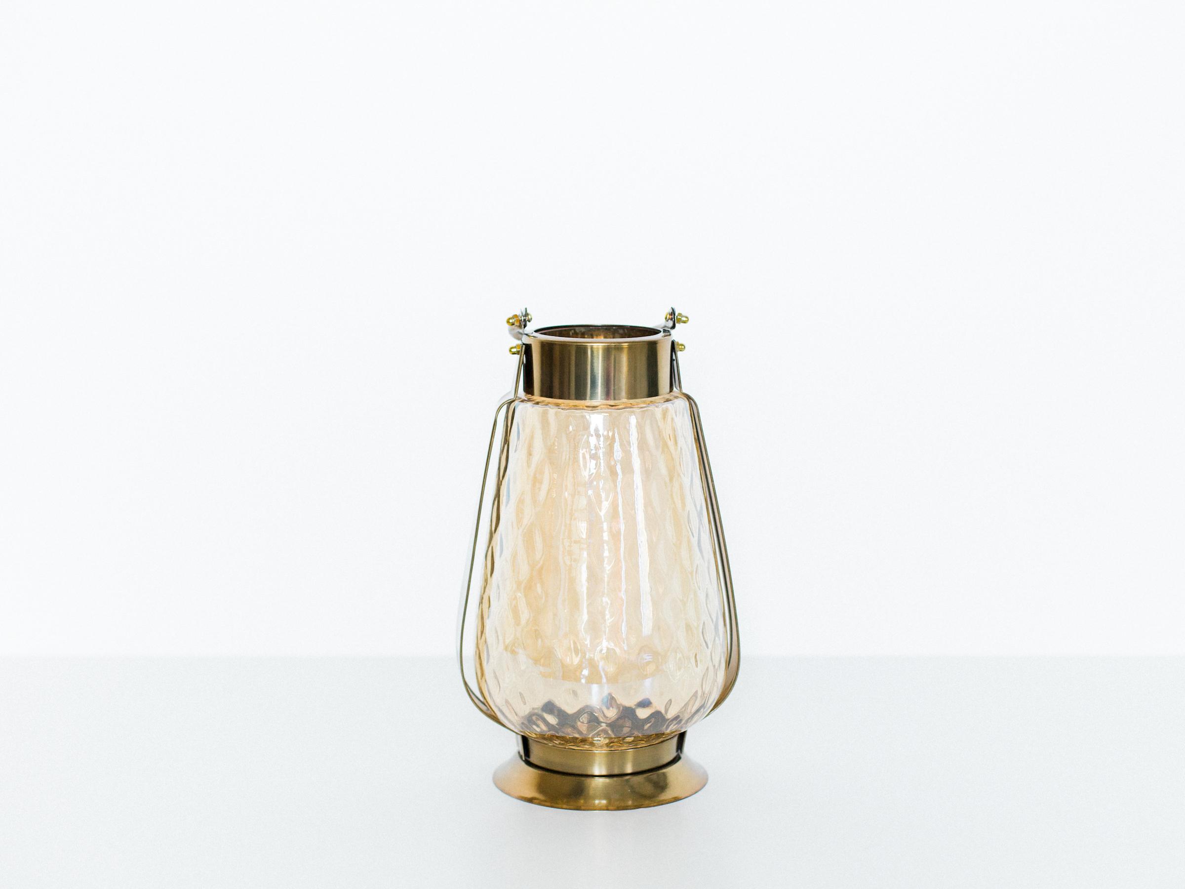 bubble glass lanterns