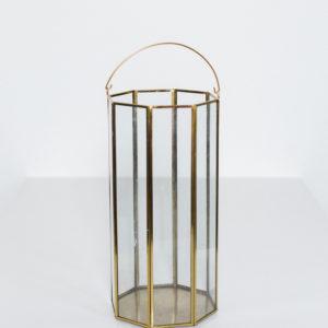 extra tall gold lantern