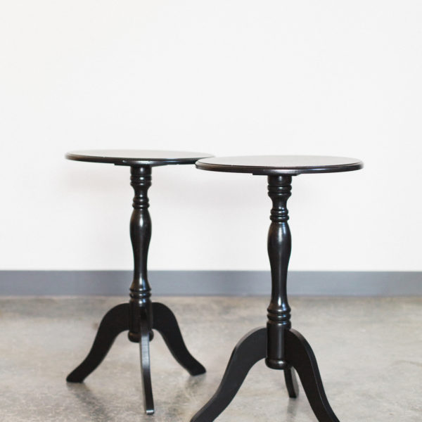 black side tables