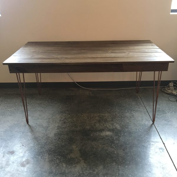 industrial sweetheart table