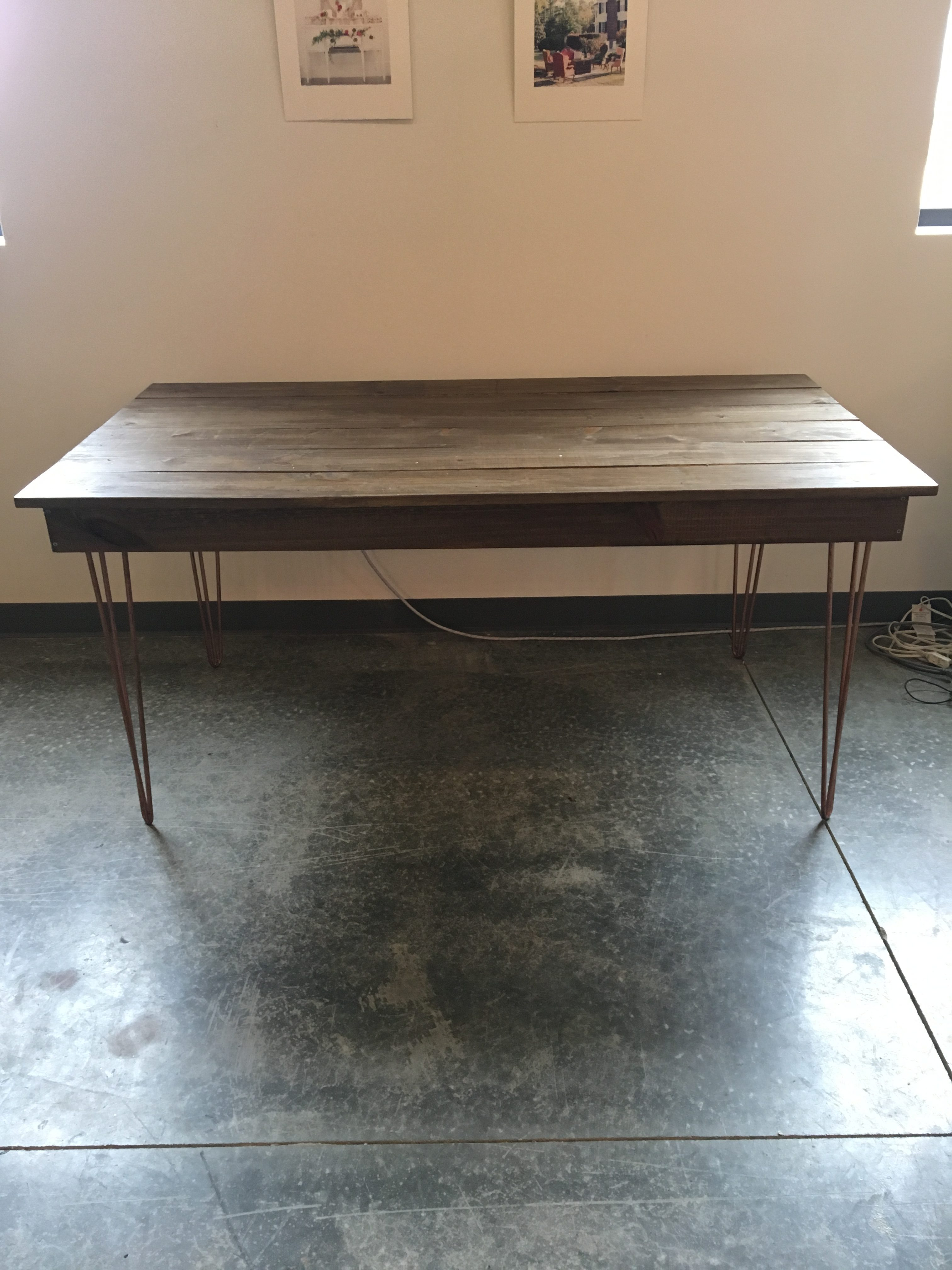 industrial sweetheart table
