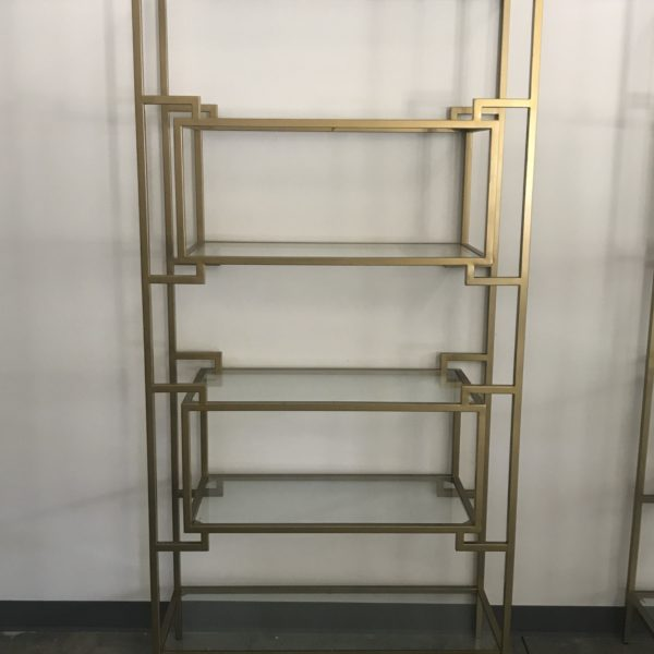 gold bar shelving