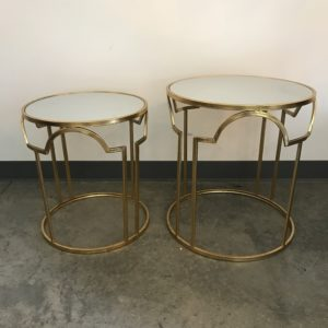 anne marie nesting gold tables