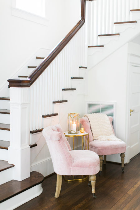 pink Casey chairs