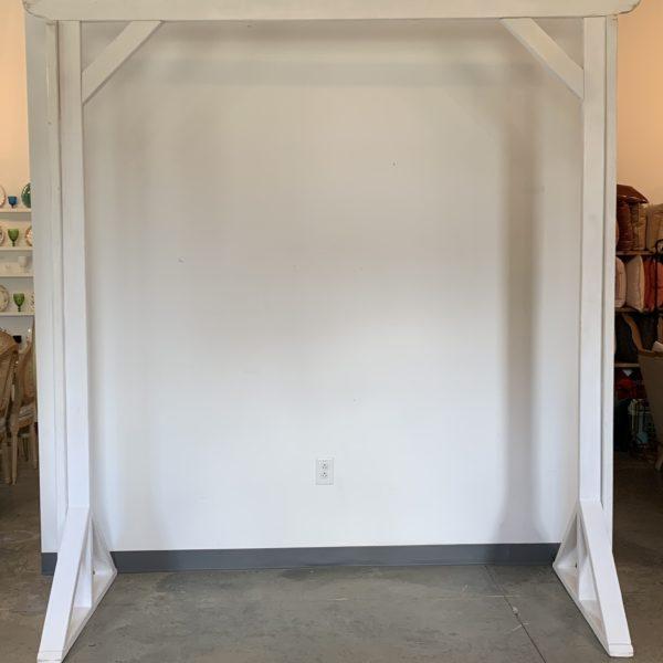 white truss