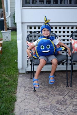fish costume