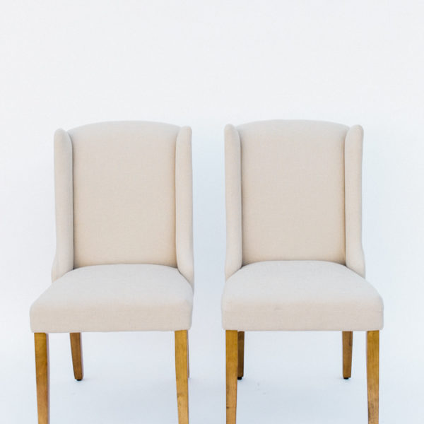 linen chairs