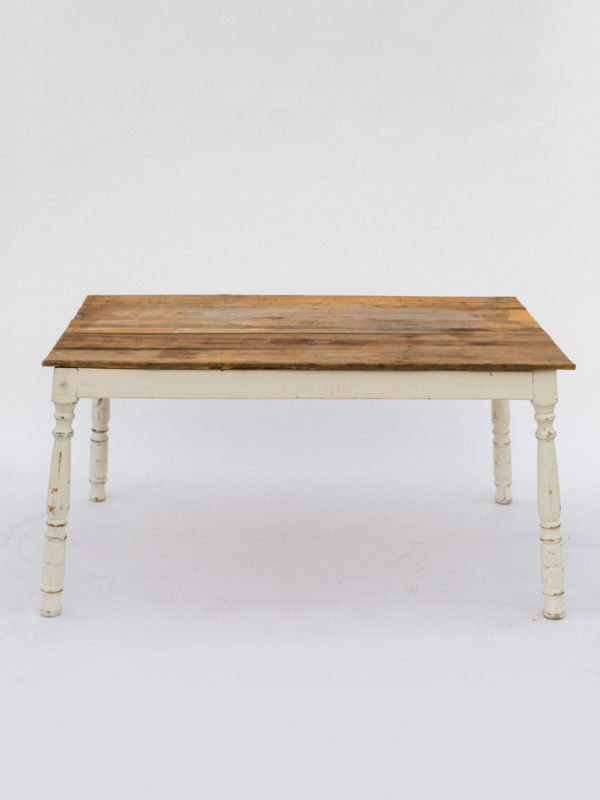 Farm Table with Slim Legs