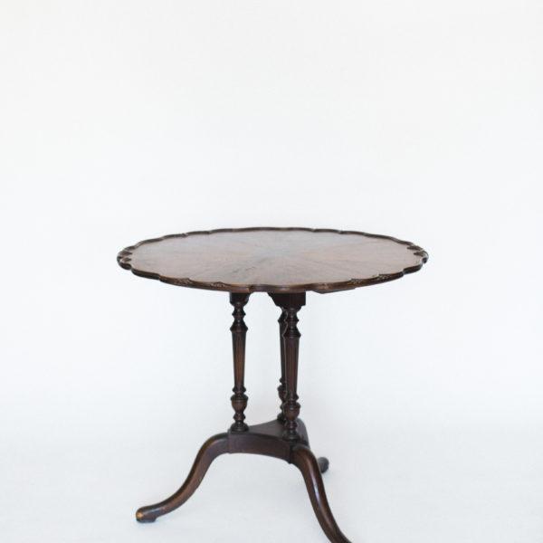 wood vintage table