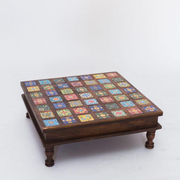 small moroccan table