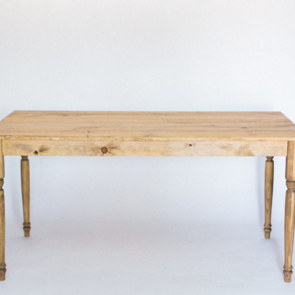 wood five foot table