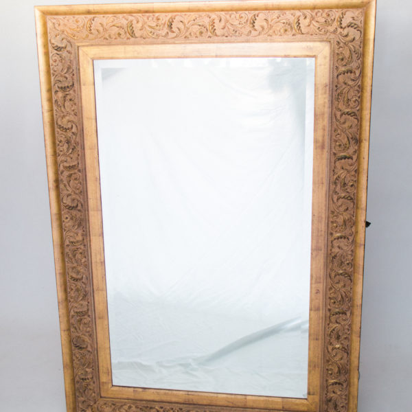 large gold floor mirror