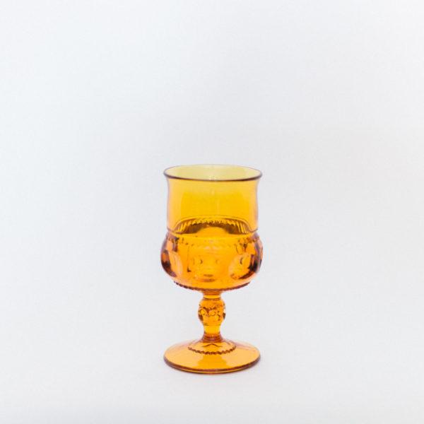 amber goblet