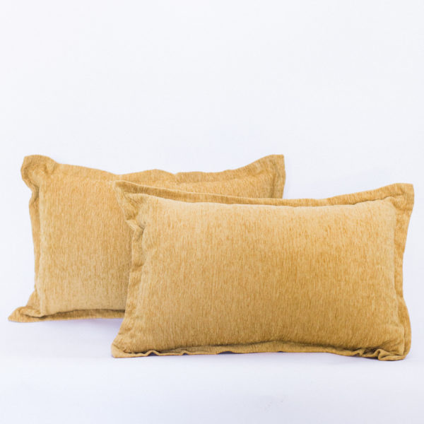 mustard pillows