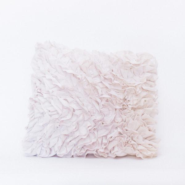ruffle pillow