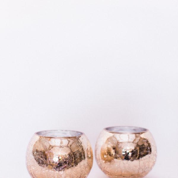 rose gold vessels