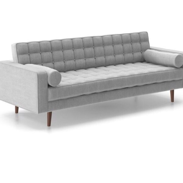 peyton gray modern sofa