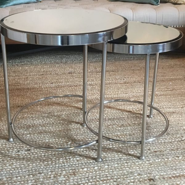 silver table
